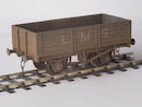 LMS D1666 5-Plank Open Wagon 6