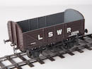 LSWR D1309 Open Wagon 3